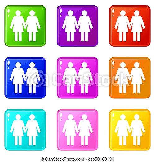deux lesbiennes filles