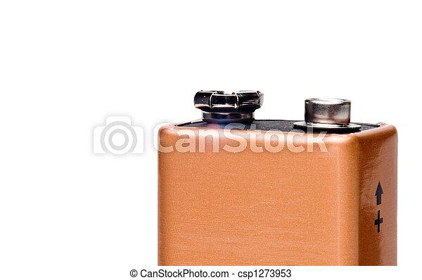 9, volt, batterie - csp1273953