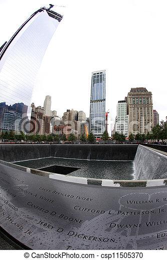 9/11 Memorial - csp11505370