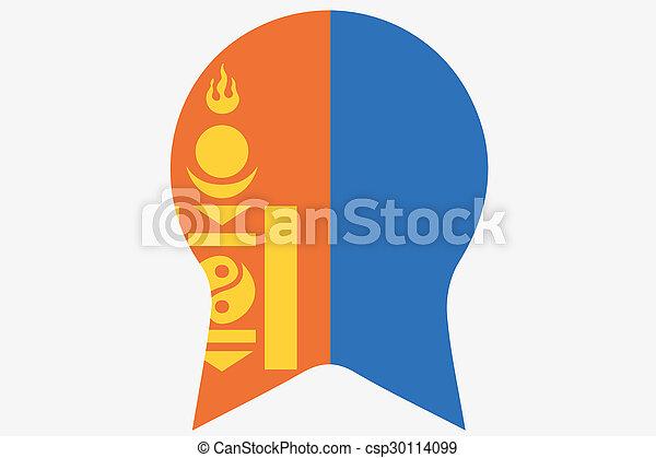 _Flags(Base)2 Mongolia - csp30114099