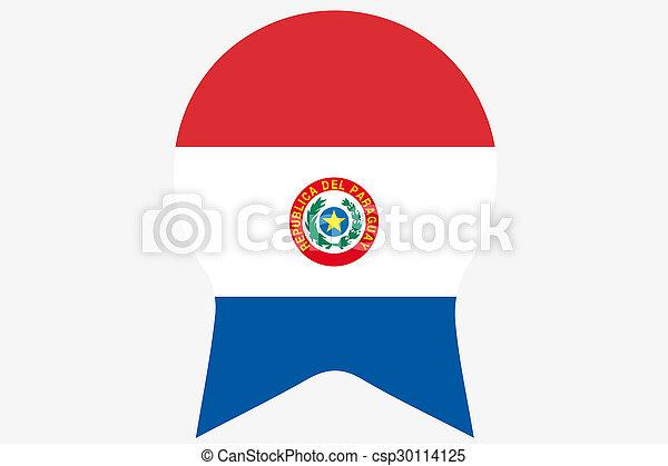 _Flags(Base)2 Paraguay - csp30114125