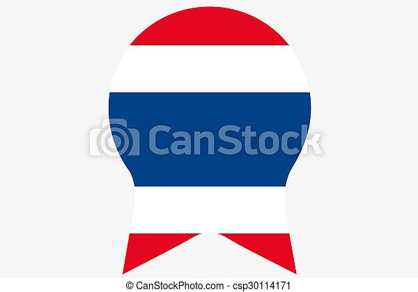 _Flags(Base)3 Thailand - csp30114171