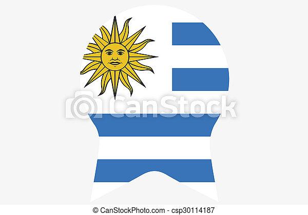 _Flags(Base)3 Uruguay - csp30114187