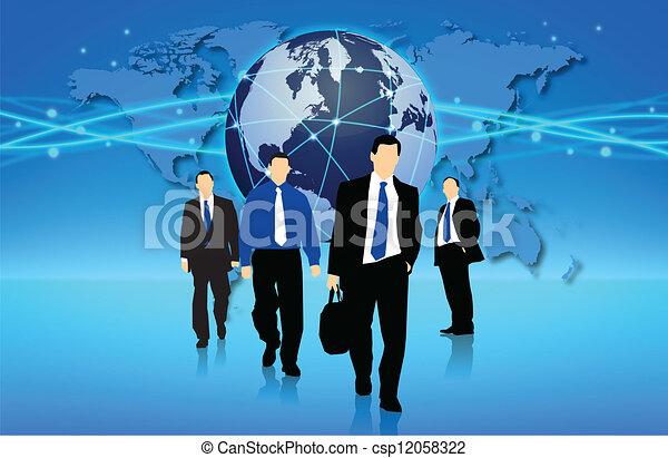 ação, negócio - csp12058322