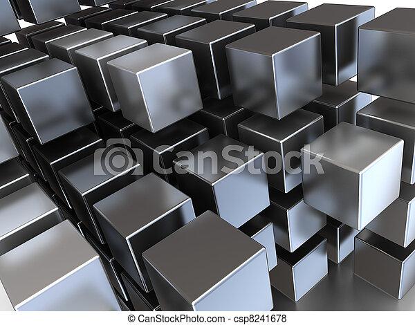 aço, cubos - csp8241678