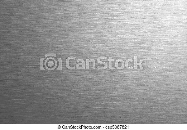 aço, inoxidável, fundo, textura - csp5087821