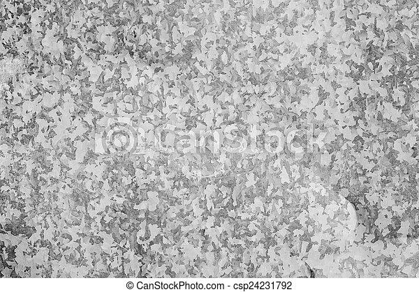 aço, prato, metal, fundo - csp24231792
