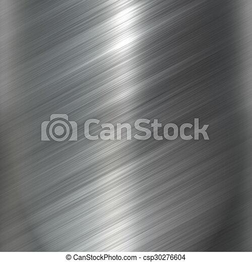 aço, prato, res, metal, textura, experiência., olá - csp30276604
