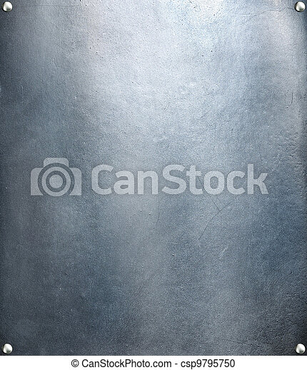 aço, prato, res, metal, textura, experiência., olá - csp9795750