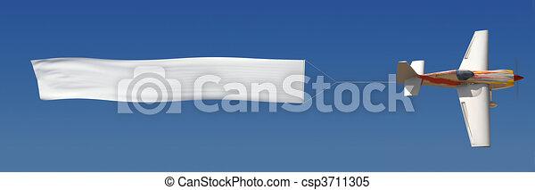 aéreo, anunciando - csp3711305