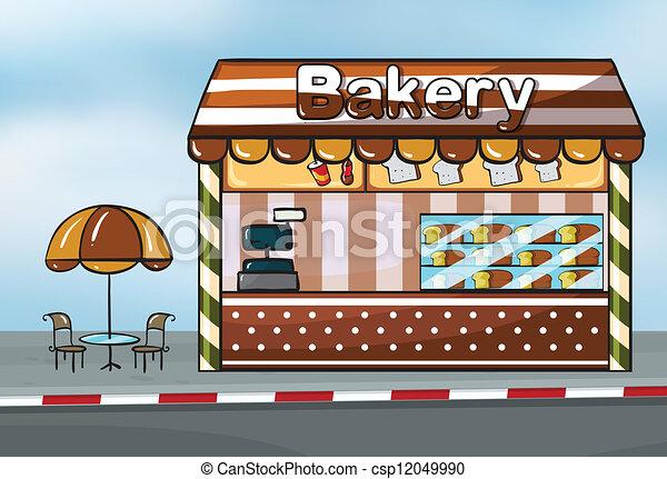 A bakery shop - csp12049990