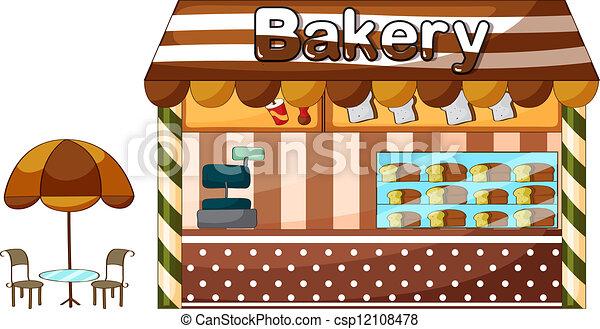 A bakery shop - csp12108478
