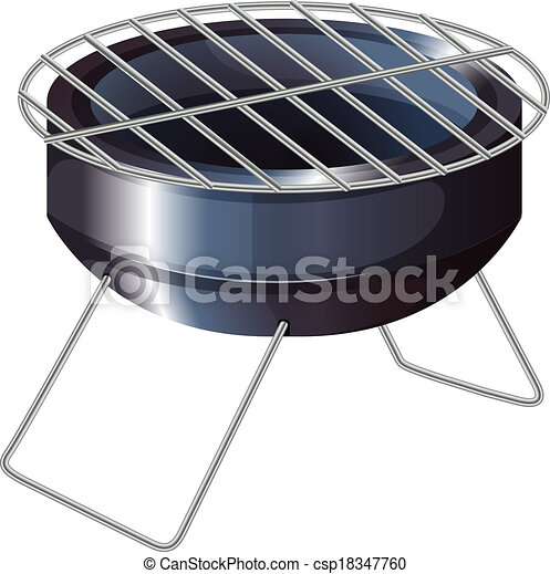 A barbeque grilling stove - csp18347760