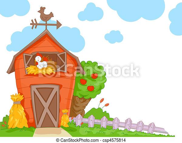 A Barn - csp4575814