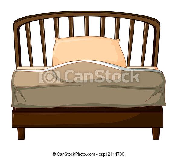 A bed  - csp12114700