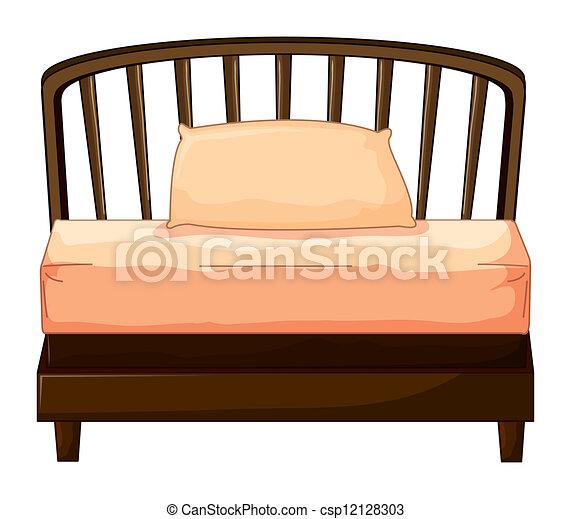 A bed - csp12128303
