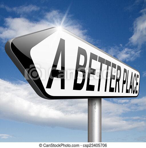 a better place - csp23405706