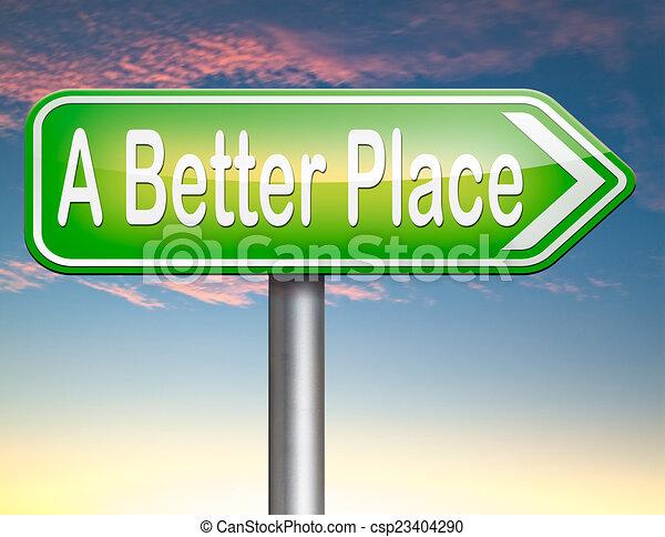 a better place - csp23404290