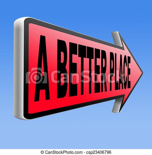 a better place - csp23406796