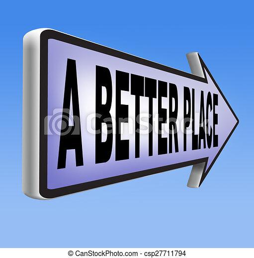 a better place - csp27711794