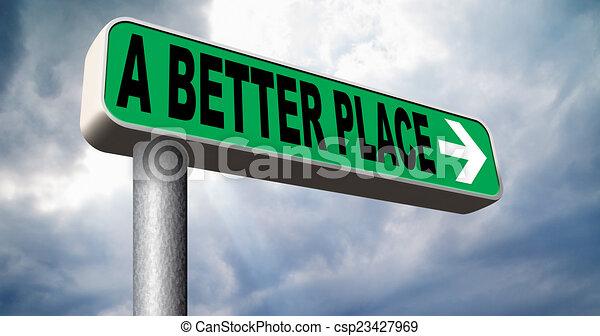 a better place - csp23427969