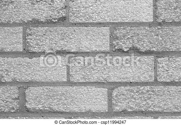 A Black and White Wall - csp11994247