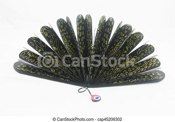 a black fan - csp45206302