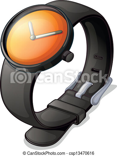 A black watch - csp13470616