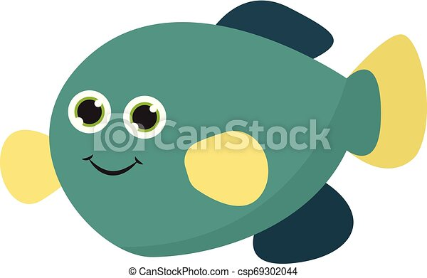 Cute Baby Narwhal Cartoon Clipart Vector - FriendlyStock