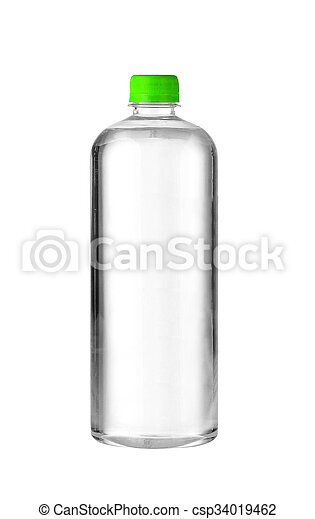 A bottle of water - csp34019462