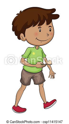 a boy - csp11415147