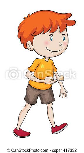 a boy - csp11417332