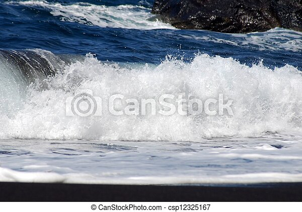 a breaking wave - csp12325167
