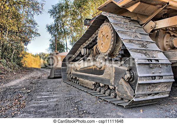 a bulldozer as hdr picture - csp11111648