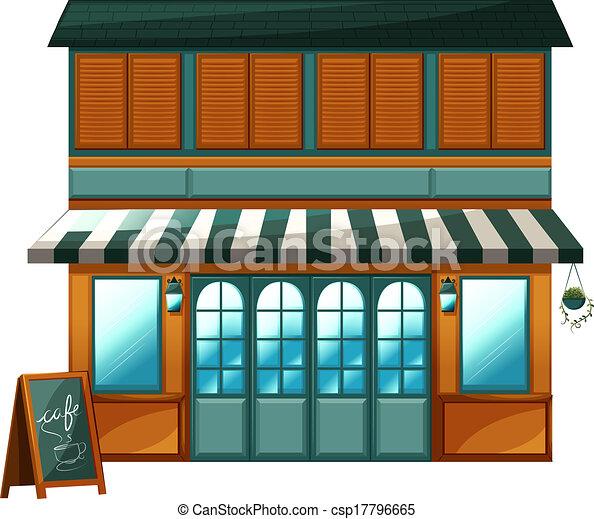 A cafe - csp17796665