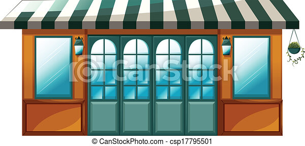 A cafe - csp17795501