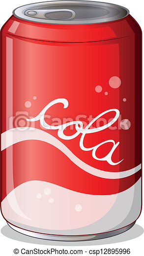 A can of cola - csp12895996