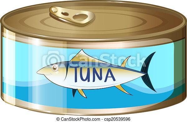 A can of tuna - csp20539596