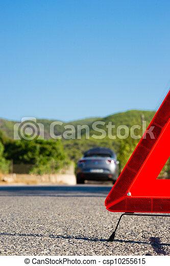 A car with a breakdown - csp10255615