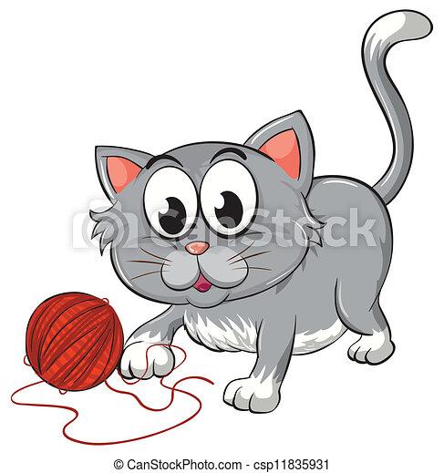 a cat - csp11835931