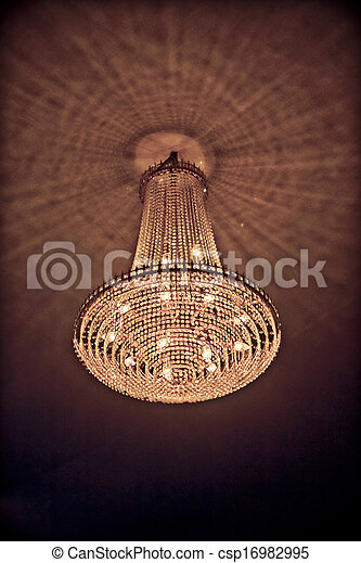 A chandelier Also known as \