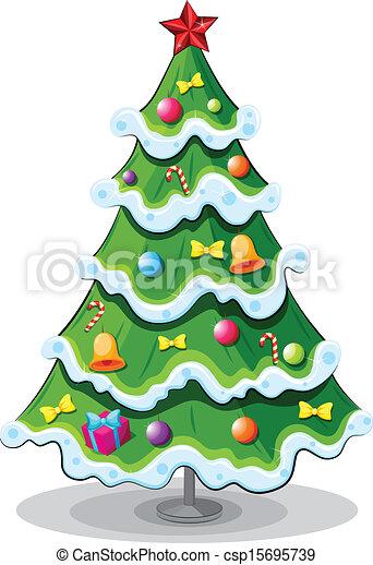 A christmas tree - csp15695739