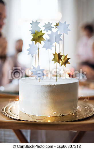 Astounding A Close Up Of Birthday Cake On A Table On An Indoor Party Copy Funny Birthday Cards Online Inifodamsfinfo