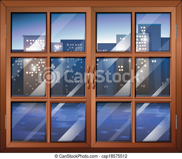 Illustration of a closed window vector clip art Search