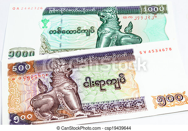 a collection of various currencies from countries the globe - csp19439644