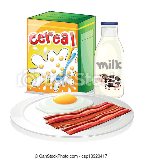 A complete breakfast meal - csp13320417
