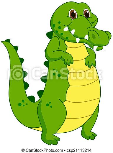 a crocodile mascot - csp21113214