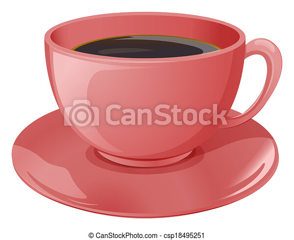 A cup of coffee - csp18495251