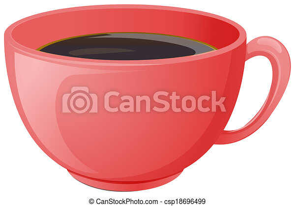 A cup of coffee - csp18696499