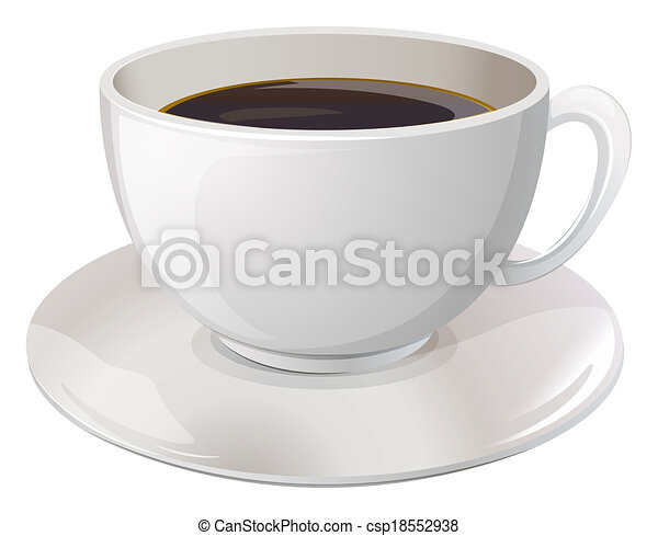 A cup of coffee - csp18552938